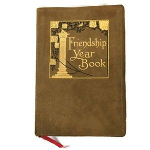 VTG Friendship Year Book 1910 Poetry